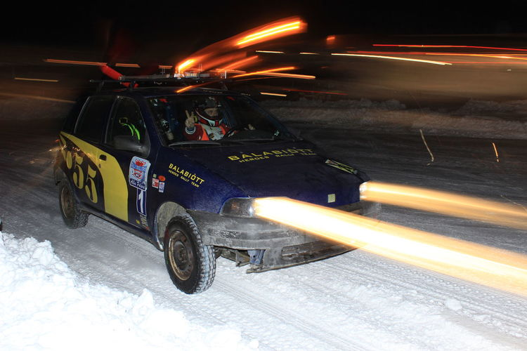 Panning shoot to a moving car at night with flash. I really love this pic, and i was very luck with the final effect! Adult Adults Only EyeEmNewHere Lifestyles Motion Night Only Men Outdoors Rally Rally Car EyeEm Best Shots Cool EyeEmNewHere