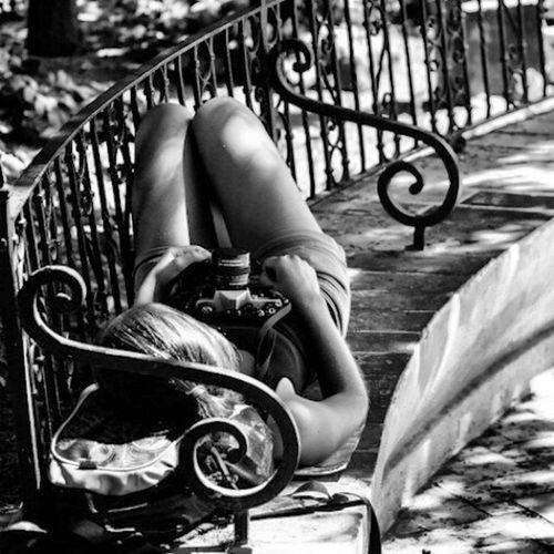 Street photo... sleeping girl... Shootermag AMPt_community EyeEm Best Shots - Black + White EyeEm Best Shots