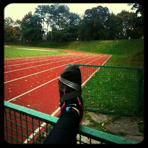 Pierwsze bieganko...odkupione skurczem...pośladków!! Grand Prix dla mojej dupki!! Jogging Holka Będzie Ze Mnie Dumna żeby Być Piękną Trzeba Cierpieć