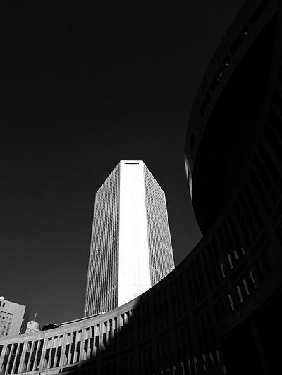 Lookingup Light And Shadow Building Monochrome Black & White EyeEm Best Shots - Black + White