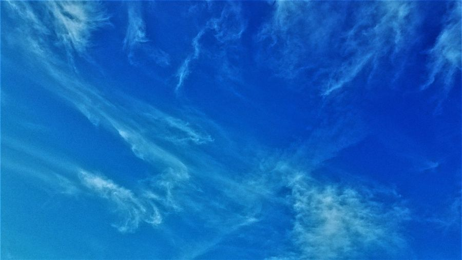 Close-up of blue sky