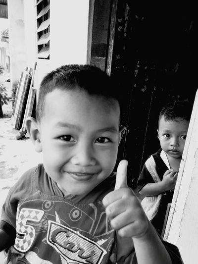 smile Child Portrait Childhood Smiling Boys Happiness Looking At Camera Togetherness Males  Cheerful