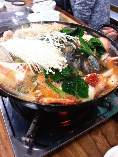 Food Porn Awards Seafood Hotpot SEAFOOD🐡 Food Food Porn Lunch Jeju Food