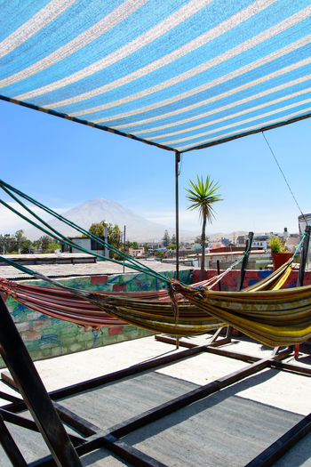 Clear Sky Nature No People Outdoors Palm Tree Sky Sunlight Volcano The Traveler - 2018 EyeEm Awards