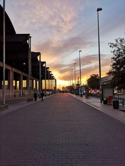 Atardecer Cordoba Spain Al Caer La Tarde Redefining Menswear City Sunset Sky Architecture Cloud - Sky Built Structure Street Light Dramatic Sky Atmospheric Mood Romantic Sky Sky Only Red Light