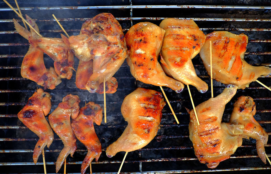 grilled Chicken .Thailand food style Barbecue, Barbeque, Bbq, Broil, Charcoal, Chicken, Closeup, Coals, Cooked, Cooking, Cuisine, Delicious, Dinner, Drumstick, Eating, Fire, Food, Fresh, Fried, Grill, Grilled, Homemade, Hot, Kebab, Leg, Lunch, Market, Meal, Meat, Picnic, Poultry, Roadside, R Grilled Chicken .Thailand Food Style