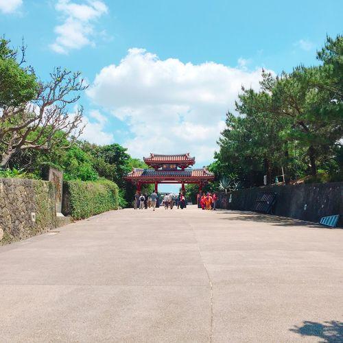 Shurijo Castle Japan Okinawa