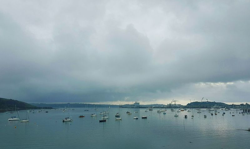 Falmouthharbour Falmouth Bay Falmouth Harbour Falmouth Dockside Docks Cornwall Cornwall Life Cloud - Sky Harbor Water Sea