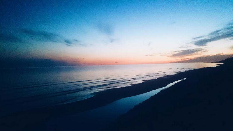Beach Evening Sky Evening The Great Outdoors - 2015 EyeEm Awards