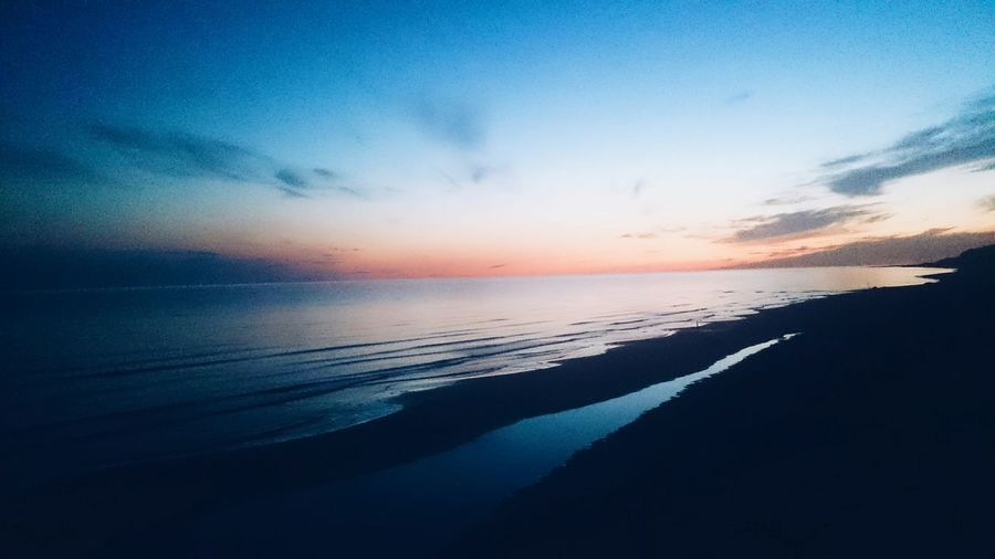 Beach Evening Sky Evening The Great Outdoors - 2015 EyeEm Awards