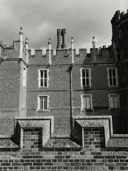 Black And White Architecture Façade No People Hampton Court Palace Light And Shadow Façade Historical Building History Henry VIII Queen Mary I Medieval Architecture