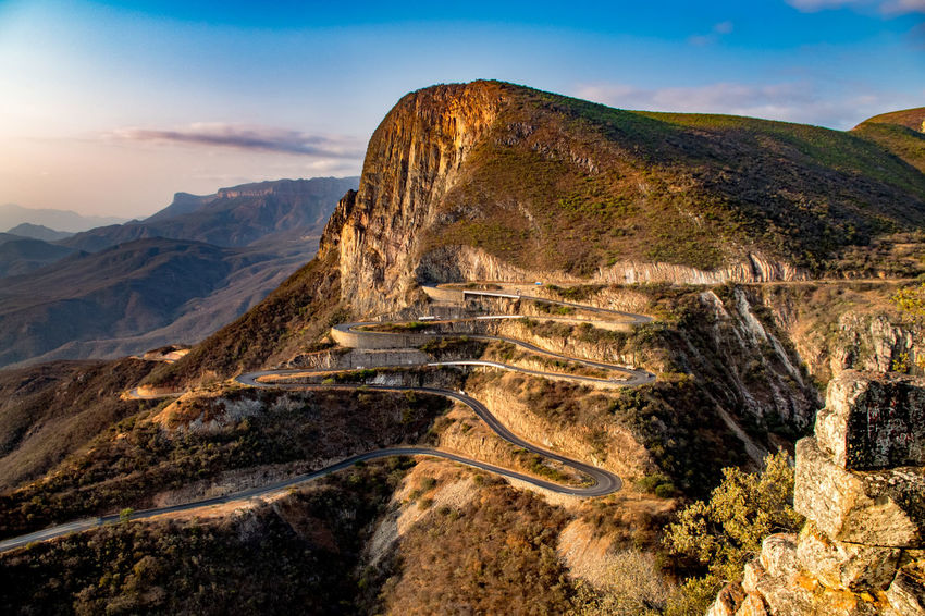 The winding road of Serra da Leba, Huila, Angola Angola Serra Da Leba Beauty In Nature Day Huila  Landscape Lubango Mountain Mountain Range Mountain Road Nature No People Outdoors Road Scenics Sky Tranquil Scene Tranquility Travel Destinations Winding Road