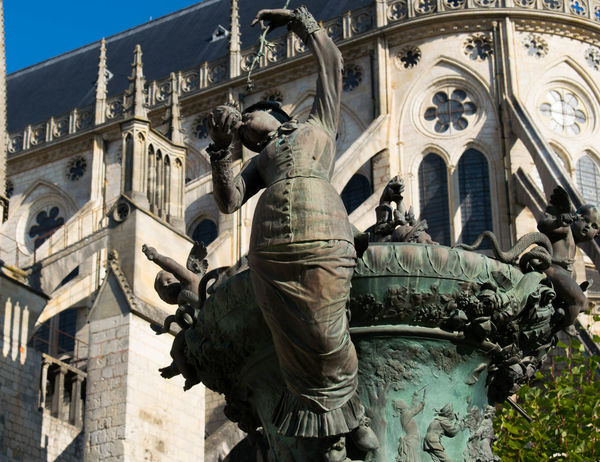 I loved this town. Bourges  Cathedral
