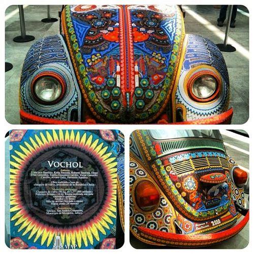 Vochol II #aertepopular #artesania #vw #museos #huichol #méxico #map Artesania Lohechoenmexico Artepopular Art Mexico Map VW Huichol Mexingers Museos Aertepopular