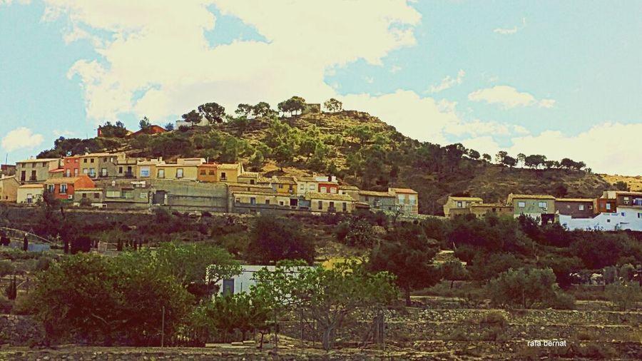 Algunas casas de Busot (Alicante) que estan en la montaña. EyeEm Nature Lover Streamzoofamily Landscape Nature