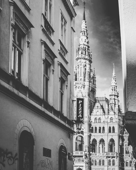 City Architecture Czech Republic Liberec Travel Destinations Streetphotography Olympus Blackandwhite