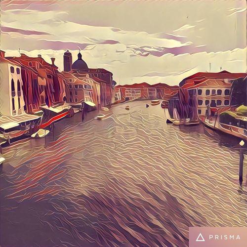 My new addiction - prisma app. Prisma Prismacolornice] Venezia Italy