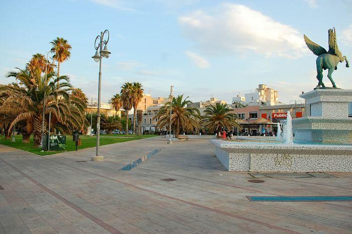 Corinth Corinth Greece Greece Parck Palm Trees Holiday Here Belongs To Me