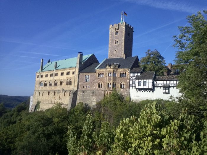 Wartburg castle eisenach