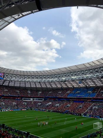 Event FIFA World Cup Russia FIFA World Cup Of 2018 Football Luzhniki Moscow Russia Russia 2018 Stadium Architecture Built Structure Crowd Fifa World Cup Fifa2018 Football Stadium Group Of People Large Group Of People Russia2018 Soccer Spectator Sport Stadium Team Sport World Cup World Cup 2018 World Cup 2018 The Architect - 2018 EyeEm Awards