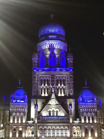 #Mumbai Architecture Building Exterior Built Structure Travel Destinations Government City Night Illuminated Building Dome Travel The Past Politics And Government Tourism History No People Nature Low Angle View Ornate Skyscraper