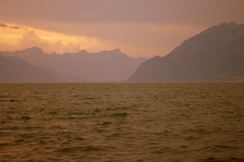 Lake See Berge
