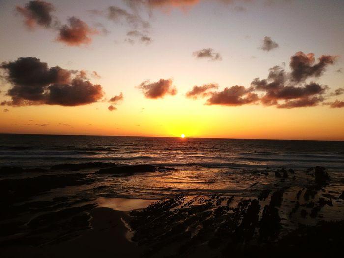 Beautiful Sunset Relaxing Enjoying Life On The Beach Mindfulness Nature Sunset #sun #clouds #skylovers #sky #nature #beautifulinnature #naturalbeauty #photography #landscape Sunsetlover