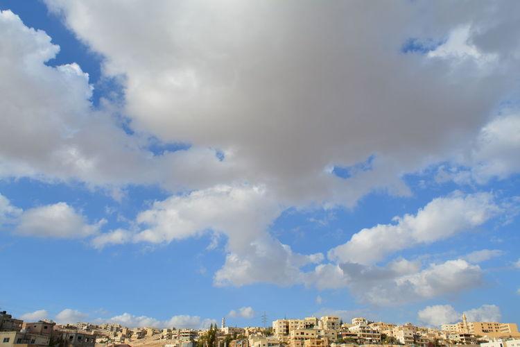 Amman Clouds And Sky Houses Jordan Resyfa The Great Outdoors - 2017 EyeEm Awards