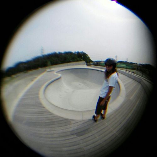 old pic my thug wife Accustomed to early summer!! 早く夏になんねーかなー Skateboard Planetpark Bowlskate Mywife