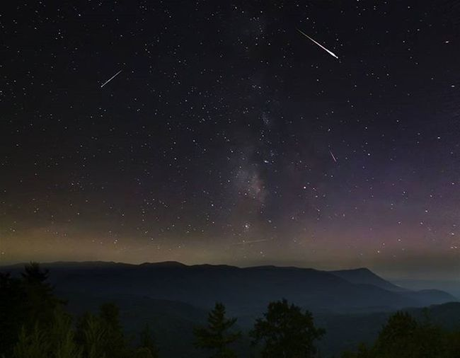 Persiad meteorshower 2015 taken in the Cohutta wilderness. Picture Photographer Photo Photography Pic Sunny Scene Trees Sunscomingout Photos Sun Sky Scenic Tree Morning Sunscomingup Pictures Suncomeouttoplay Goodmorning Mountains Lovemountains Views LoveNature Autumn Traveling clouds landscape peaks georgia meteorshower