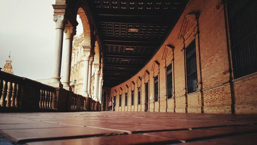 Architecture Built Structure City No People Outdoors Day Plaza De España Sevilla Seville