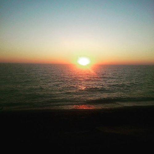Как всегда прекрасный закат Кача Крым Закат небо