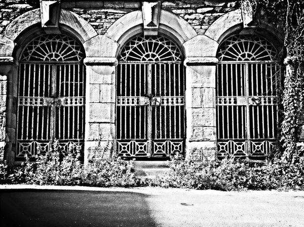 Blackandwhite Architecture Oldpicture Gate