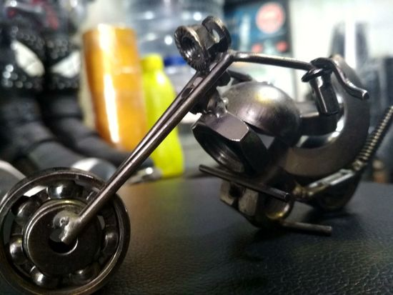 handmade metal miniature art Metal Bike Miniature Miniatures Miniature Bike Phtotography Shadow Healthcare And Medicine Close-up