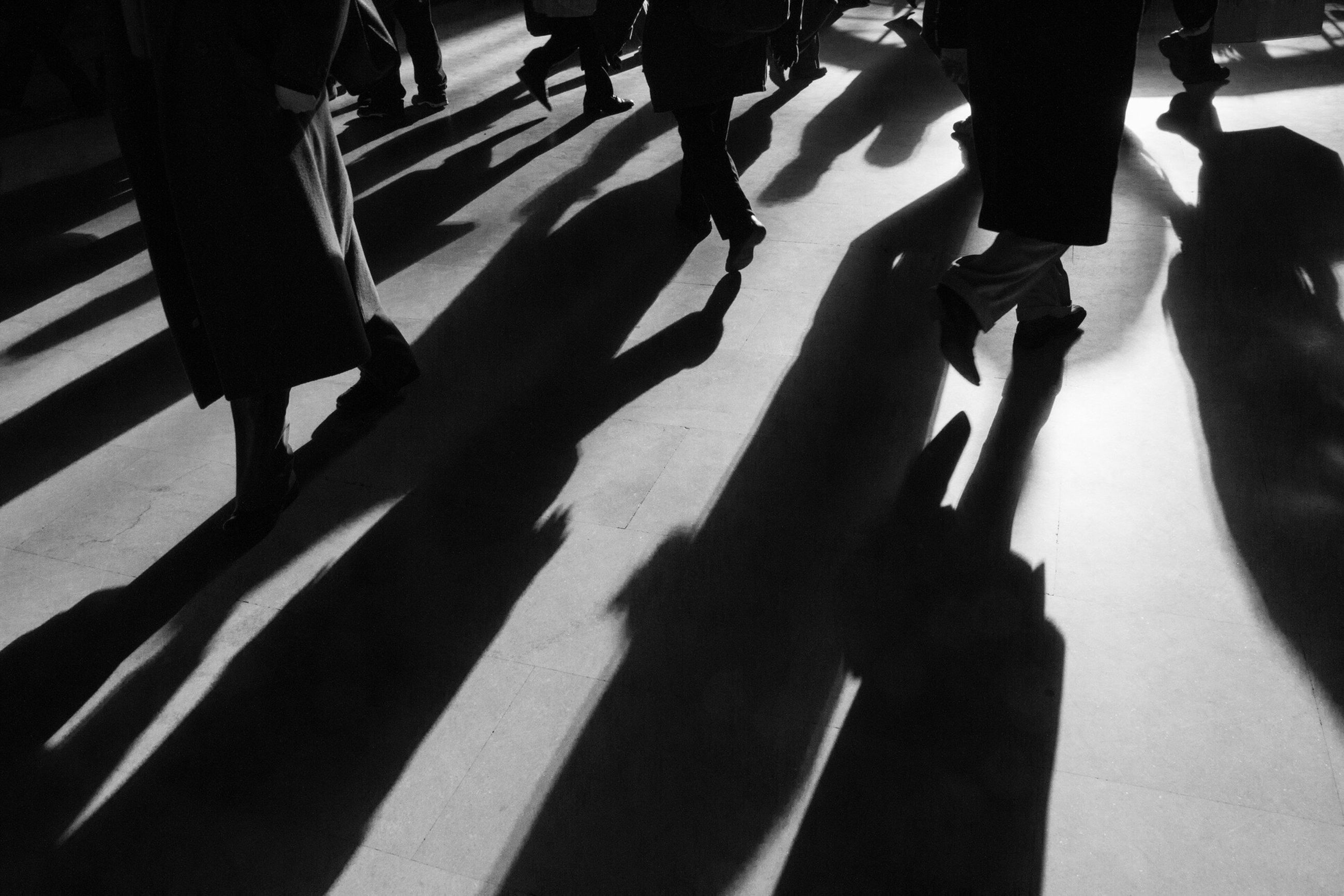 shadow, low section, real people, men, adults only, sunlight, large group of people, women, human leg, only men, human body part, people, adult, outdoors, day