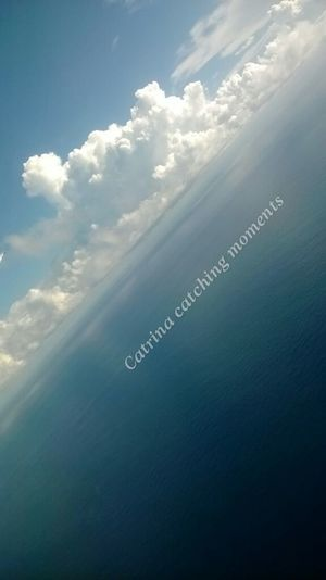 Viewfromtheplane Clouds Sky Ocean Scenic View Stunning Taking Photos Dominican Republic Carribean
