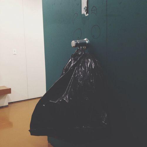 Plastic Wrap Funny Face Urinal