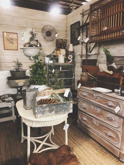 Antique Shop Antique Chair Table Wood - Material Furniture