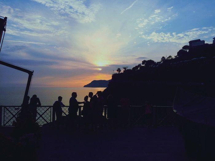 Eurotrip Golden Hour Manarola Cinque Terre