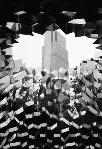 Built Structure Building Exterior Architecture City Day Abundance Building Large Group Of Objects Outdoors No People Stack Nature High Angle View Sunlight Heap Skyscraper Repetition Office Building Exterior Roof Film Photography Blackandwhite
