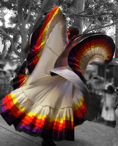 Multi Colored Performance Mexico Cultures Traditional Festival Traditional Dancing Traditional Culture EyeEm Best Shots Traditional Clothing MexicanTradition Performing Arts Event Arts Culture And Entertainment