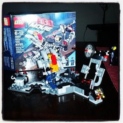 TheLegoMovie LEGO TheMeltingRoom Emmet Wyldstyle RoboSWAT @gav101201
