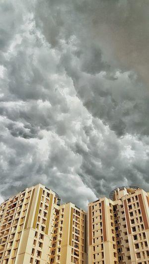 Clouds Flat Sky