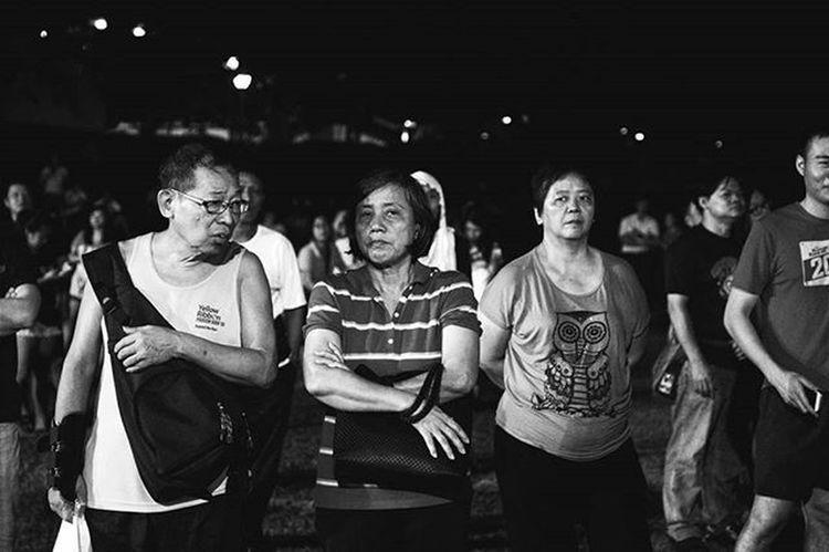 Taken at the RP rally last night in Buangkok // GE2015 Madaboutsingapore2015 Madaboutsingapore
