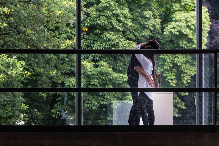 Duisburg Germany GERMANY🇩🇪DEUTSCHERLAND@ Glass - Material Green In And Out Indoors  Interior Views Looking Through Window Lovers Museum Transparent Window