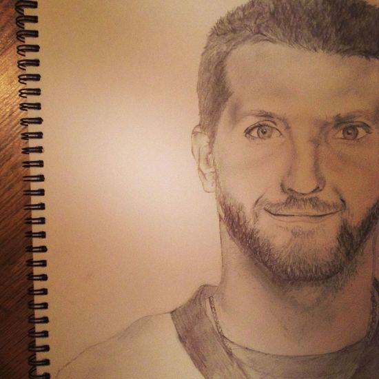 Bradley Cooper Sketch is done