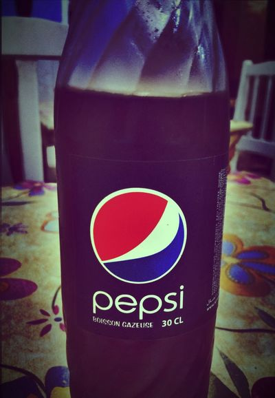 Drinking Pepsi Relaxing look Sweet