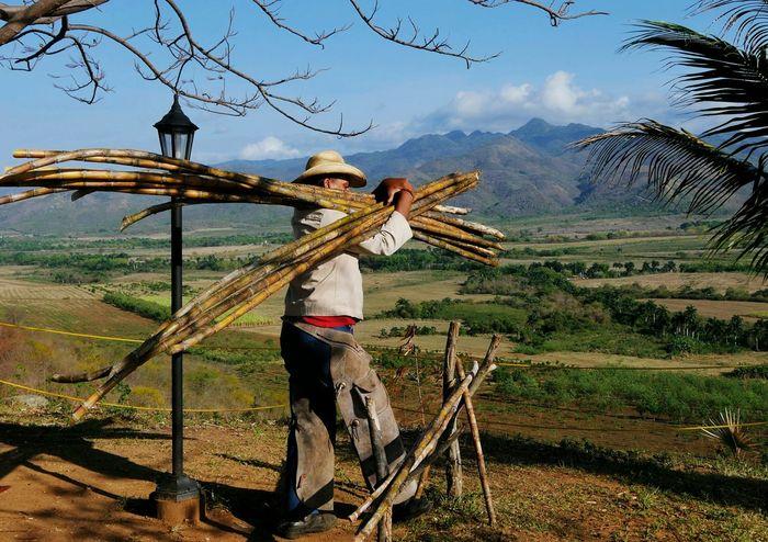 Sugar cane rancher, Trinidad, Cuba. Rancher Cowboy Caballeros Sugar Cane Mointains Mountain View Trinidad Cuba Cuban Worker Laborer Lumix G7 Feel The Journey Fine Art Photography