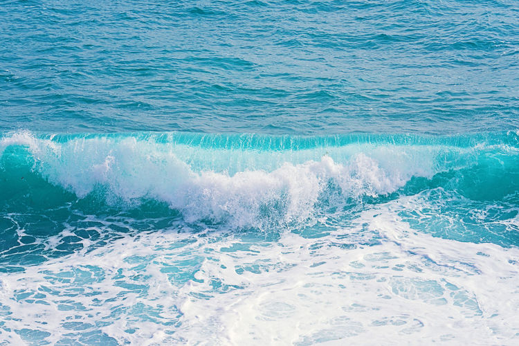 Sea Water Sport Waterfront Beauty In Nature Nature Day Outdoors Turquoise Colored Wave Motion Aquatic Sport Surfing Splashing Power Scenics - Nature Power In Nature Beach Flowing Water Rolling Wave