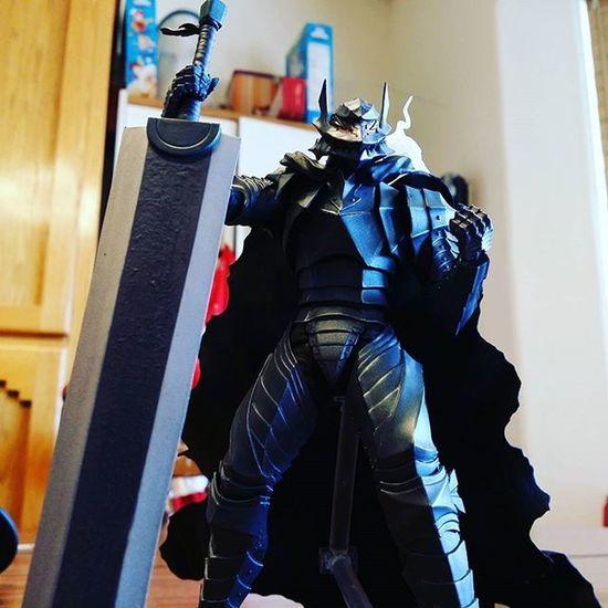 My holy grail figure came in!!!!! Guts Berserk Kentaromiura Berserkerarmor Figma Holygrail Schierke Dragonslayer